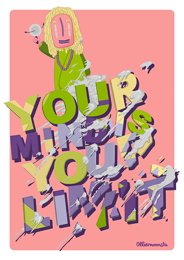 Your-mind-is-your-limit-illustration-olliemoonsta