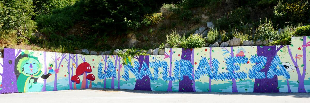 Mural Candelario 2016 by Olliemoonsta